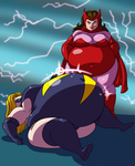 No More Skinny Girls 2 - Ep 20 - Ms. Marvel by Axel-Rosered