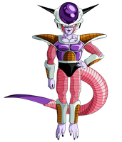 First Form Frieza by EmiyanSaiyan