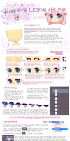Pixel eye tutorial + Blinking by miiaro