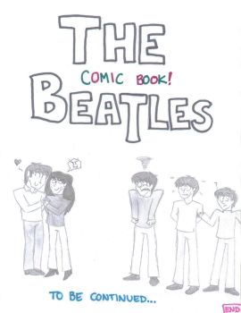 Comic Book Beatles End Page by CrystalKaleidescope