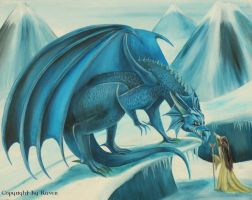 Taming a cold dragon by RavenMorgoth