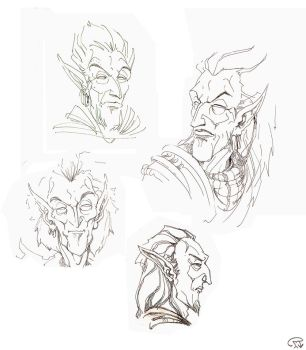 Sketches by LAAMDT