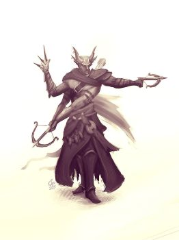 Four Arms Hunter by slipled