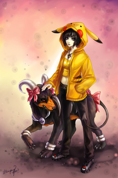 Creepie Commission by yuumei