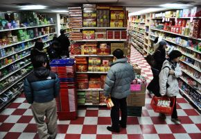 chinatown supermarket by Mjag