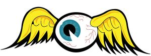 von dutch flying eyeball by GabeRios