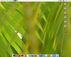 Latest Ubuntu Screenshot by riz4l