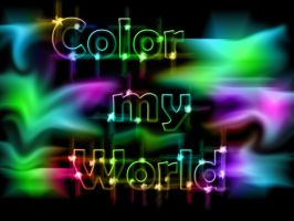 Color my world by WhiteFlameTiger