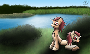 Twins in the Meadow by SpeedyandRose