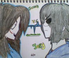 Jacey Vs. Joey by Clairbanthedoll