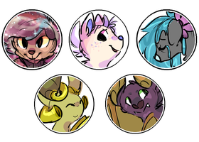 commission batch 1 by Kitzophrenic