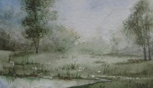 meadow painting #2 by miclistair
