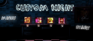 FNAF 1's Custom Night (My Design) by Some-Crappy-Edits