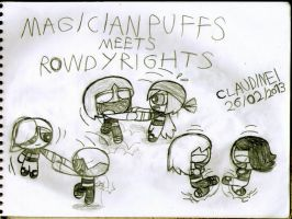 MagicianPuffs meets RowdyRights by claudinei230