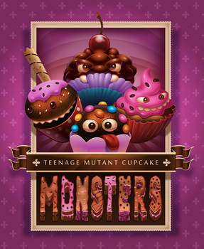 Teenage Mutant Cupcake Monsters by DaniloFiocco