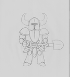 Shovel Knight by guilmon182