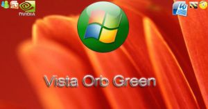 Windows Vista Orb Green by kokej69