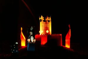 Night Castle by DionysosBacchus