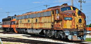 Milwaukee Road E and F Units by BigBadMatt