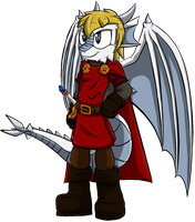 King Arthur Pendragon by OrionTHedgehog