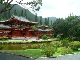 Byodo-in Temple, Hawaii by namja01