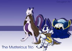 Mysterious Trio by gerugeon