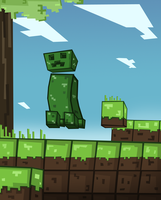 Minecraft Creeper by Ben3555