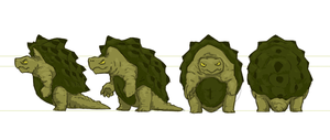 Turtle Turnaround (colour) by Migarcia