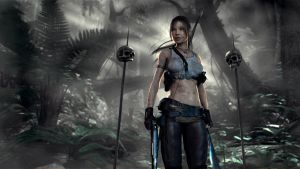 Lara Croft Reborn Wallpaper by IamUman