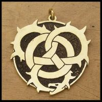 Circle Orboros pendant by simoniculus