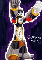 Dwn No.76: Corpse Man by GarthTheDestroyer