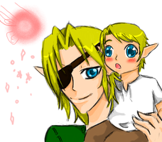 Look Daddy a Fairy! by girloveslink