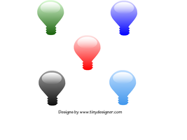 Web 2.0 style lamps by tinydesigner