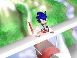 Sonic on Remote by Sonic840
