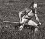Celtic Warrior in the Grass 2 by Bear54
