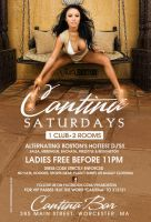 cantina saturdays flyer by DeityDesignz