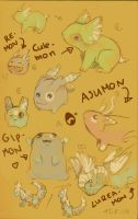 digimon all over by Sheevee