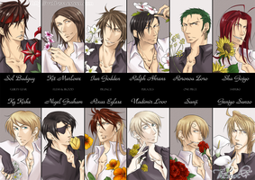 Guys and Flowers by wolf-zaa