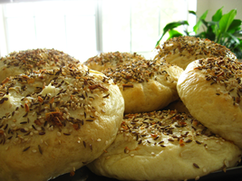 Homemade Everything Bagels 2 by mrskupe