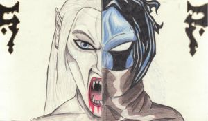 Raziel and Kain by Revie6661