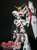 HGUC 1/144 Unicorn Gundam by gaido
