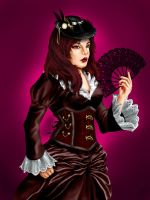 Victorian Steampunk - Commission by Guinzoo