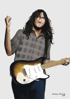 John Frusciante by claudineiart