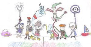 TWA vs. Kingdom Hearts by Malion