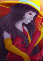 I'm just your problem - Marceline from A.T. by AuraGoddess
