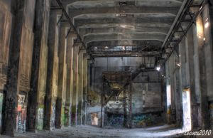 old industrial ruin by Lecosa
