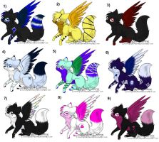 Song Inspired Adopts by Inner-Realm-Adopts