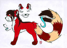 I MESSED UP THE TAIL WHOOPS by Just-an--Illusion