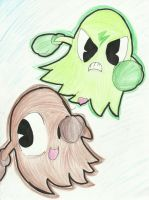Cookie and Sparky by Papiwolffox640