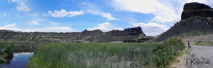 Dry Falls Panorama by TRunna